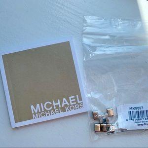 Michael Kors Accessories - Michael Kors Two Tone Chronograph watch